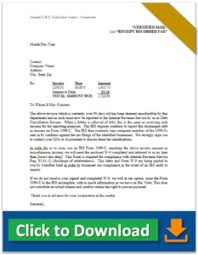 aggressive collection letter sle