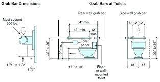 shower valve height handicapped toilet