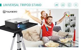 VANKYO Aluminum <b>Tripod Projector Stand Adjustable</b> Laptop <b>Stand</b> ...