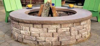 outdoor stone fire pit. Wood Burning Fire Pit Kits Outdoor Stone BabyLoudMouth With Regard To Prepare 2 D