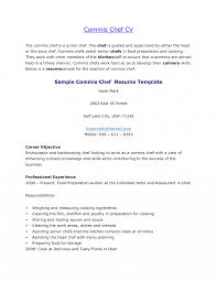 Resume Templates Chef Examples Sample For Pastry Yun56 Co