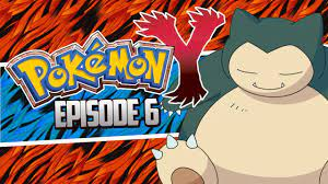 Pokemon X and Y Let's Play Walkthrough, Classic Snorlax, Blocking Bridges - Episode  6! - YouTube
