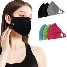 5pcs Reusable <b>Sponge</b> Mouth-Muffle <b>Anti</b>-<b>Fog</b> Haze Dustproof Half ...