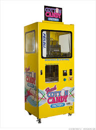 Sweet Vending Machine Delectable Innovation In Vending Machines Instant Cotton Candy 48 CNNMoney