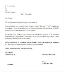 Offer Letter Template India Bunch Ideas Of Offer Letter Format Doc