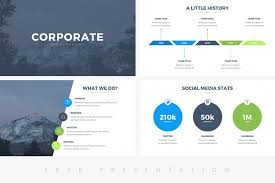 Company Presentation Template Ppt 25 Free Professional Ppt Templates For Project Presentations
