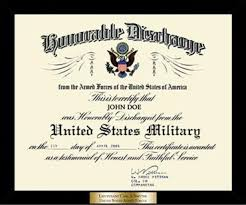 honorable discharge frames honorable discharge certificate frame  honorable discharge frames