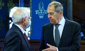 Image result for Borell and Lavrov images