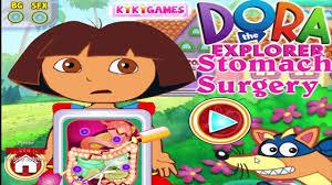 Dora L Exploratrice Estomac Jeu De La Chirurgie Pour Les Enfants