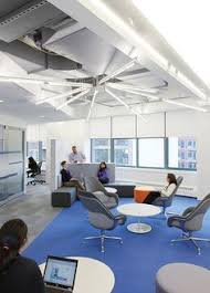 lighting for offices. the bold jet blue offices by hlw international lighting for g