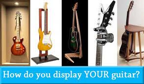 guitar display 5 exciting ways