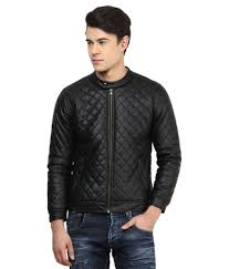 atorse black leather jacket atorse black leather jacket at best s in india on snapdeal
