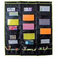Hanging File Folder Organizer Storage Pocket Chart 30 Large Pockets And 9 Off