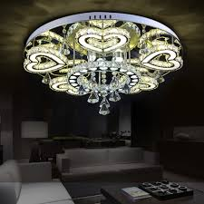 Led Edelstahl Kristall Herzen Led Lampe Led Licht Deckenleuchten