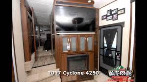 2017 heartland cyclone 4250 fifth wheel toy hauler in claremore ok you
