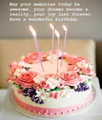 beautiful birthday cake wishes images best