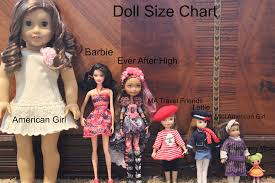American Doll Size Chart Reviews My Doll Life