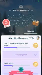 Two candies from walking task is complete with one candy collected. I'll  take it. : TheSilphRoad