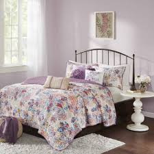 madison park raylene multi cotton quilted 6 piece coverlet set com