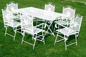 White wrought iron furniture Tan Full Size Of White Wrought Iron Garden Chair Metal Outdoor Furniture Bench Cast Chairs French Charming Svenskbooks White Iron Garden Furniture Outdoor Table Metal Uk Cast Chairs Sofa