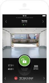 garage door appInternet Smartphone Kit for Garage Door Opener