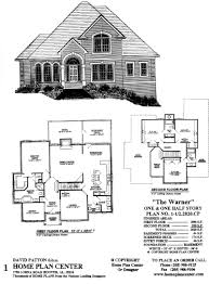 home plan center 1 1 augustine for one and half story house plans
