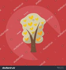 Family Tree Modern Design Flat Modern Design Shadow Icons Family Stock Vector Royalty