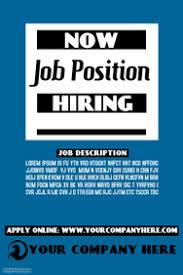 Job Posting Template Job Posting Flyer Konmar Mcpgroup Co