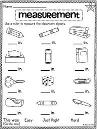 1000+ ideas about Measurement Worksheets on Pinterest | Worksheets ...AMAZING nonstandard and standard measurement worksheets and activities for first grade