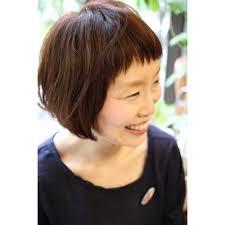 前髪短めスッキリボブ Belinベリンのヘアスタイル 美容院美容室