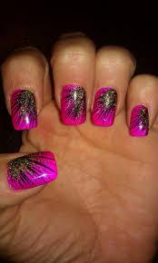 peacock nail art example | nails | Pinterest | Peacock nail art ...