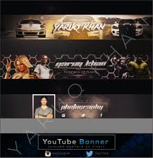 Best Youtube Banner Design The Best Youtube Banners Fiverr
