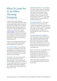 Cleaning Company Jobs Cleaning Company Factors To Consider Services Offered Tips