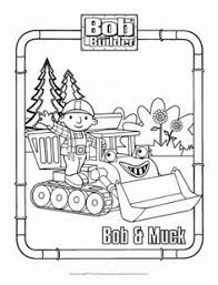 Small Picture Bob and Muck Coloring Page Bob the Builder Coloring Pages for
