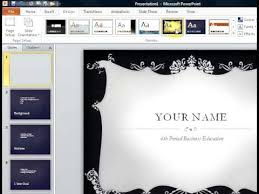 powerpoint biography autobiography presentation avi youtube