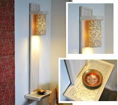 diy wall lighting. Introduction: DIY Wall Lamp / Sconce With A Shelf Made Hand Tools Diy Lighting E