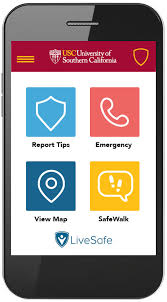Usc Mobile Launches App News Safety -