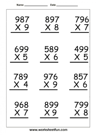Free 5th Grade Mathksheets For Fifth Practice Ordering Decimals ...