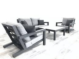 outdoor furniture white. Block Aluminium Sunbrella Outdoor Furniture White