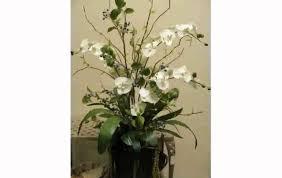Silk Arrangements For Home Decor Modern Artificial Flower Arrangements Youtube