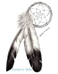 Native Dream Catchers Drawings Native American Dream Catcher Tattoo Drawing in 100 Real Photo 99