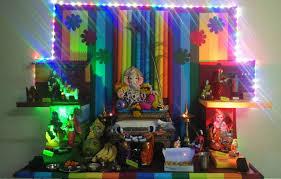 ganesh decoration light wanker for