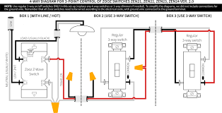 zooz zen23 v2 and 4 way wiring devices integrations with 3 switch diagram