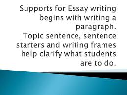 unit model essay questions framed paragraph iuml frac a good topic 3 iuml129frac12 a good topic sentence can act as a springboard for writing iuml129frac12 it helps to focus student reading as they a defined purpose