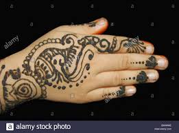 Indian Arabic Mehandi Designs Arabic Mehndi Design Compared With The Complex Indian