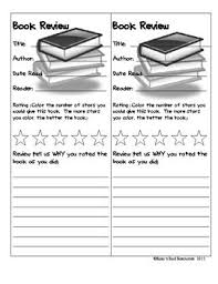 Choice Book Review Assignment by Tiffany Holliday   TpT       Answer the BIG QUESTION A Book Review assignment