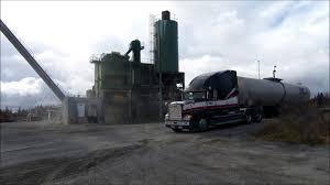 Liquid Asphalt Freightliner Liquid Asphalt Hauler Youtube