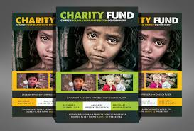 Donation Flyer Template Fascinating 48 Charity Flyer Templates Printable PSD AI Vector EPS Format