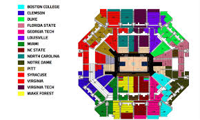 Syracuse Seating Chart Acc Tournament Seating Chart Leaked Syracuse Sitting