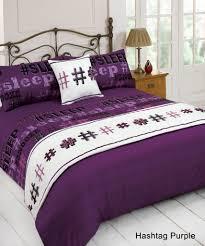 full image for charming purple duvet cover double 60 purple duvet cover double purple quilt bedding